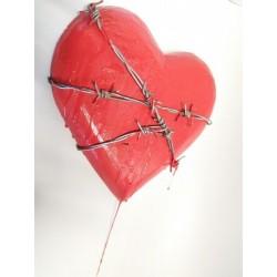 sputane srdce 23x31cm