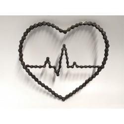 Srdce EKG 23x26